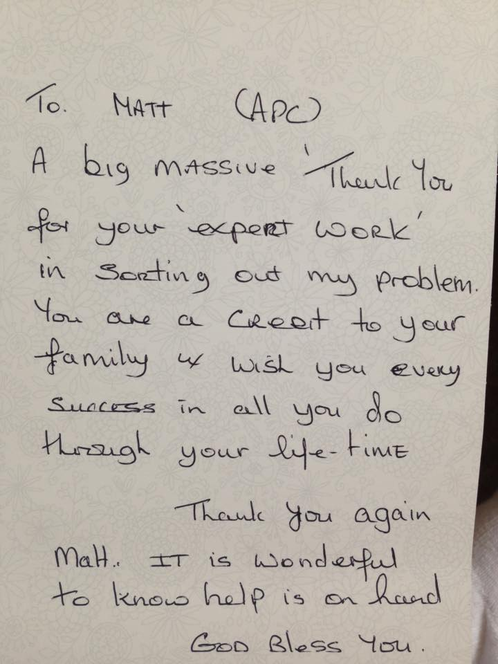 testimonials - 15 years pest control experience