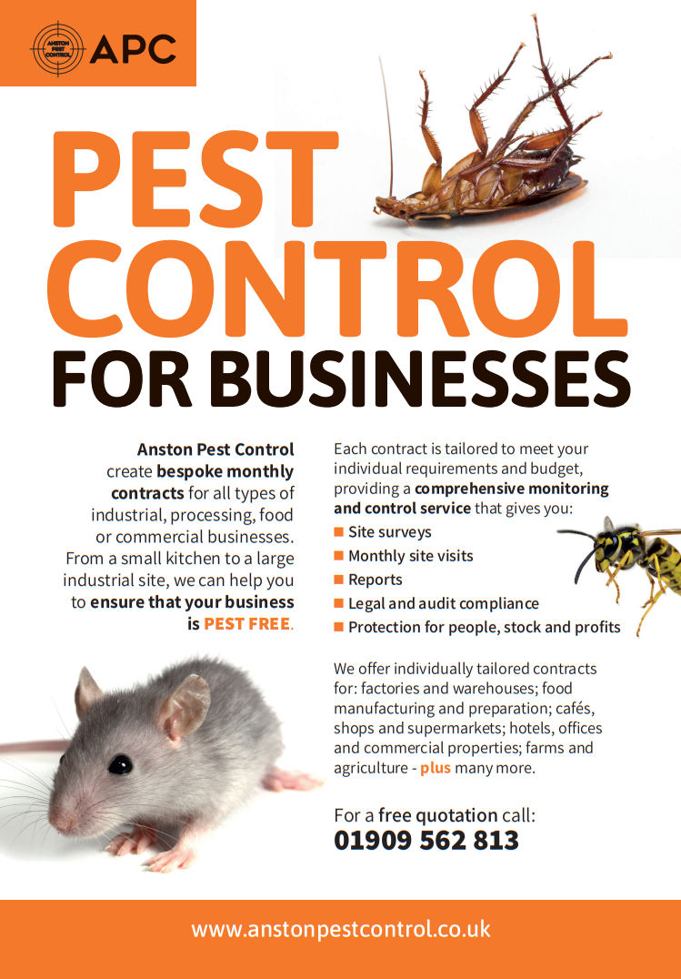 An image of the company pest control leaflet